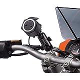 UltimateAddons Kit support pince à extension de guidon de moto pour utilisation avec Tomtom Rider 40400