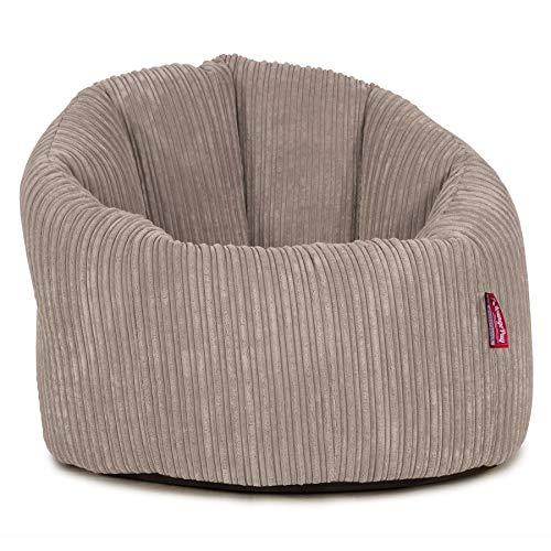Lounge Pug®, Puff Silla 'Abrazo', Pana Clásica - Visón
