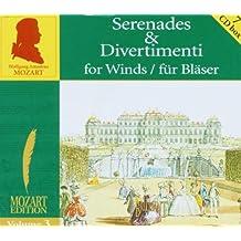 Mozart Edition, Vol.3: Serenades & Divertimenti for Wind / für Bläser