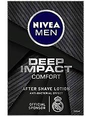 NIVEA MEN Shaving, Deep Impact Comfort After Shave Lotion, 100ml