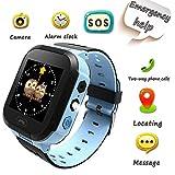 Radayuan2 Orologi per bambini smartwatch per ragazzi con localizzazione in tempo reale chiamata di emergenza sveglia messaggi vocali orologio da polso per bambini il miglior regalo per i bambini