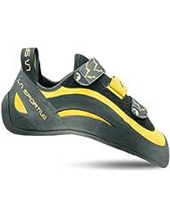 La Sportiva Miura VS - Pies de gato para hombre, color amarillo / negro, talla 45.5