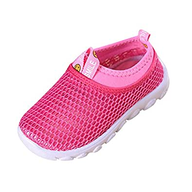 Soft Mesh Flat Kids Shoes Ultralight Soft Soles Breathable ...
