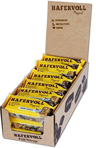 HAFERVOLL Flapjack Banane Paranuss, 18 x 65g