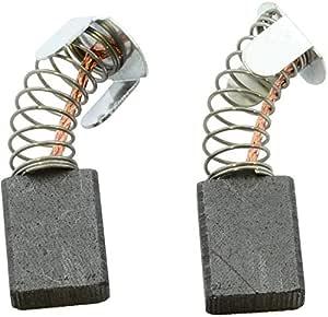 Balais de Charbon pour MAKITA 2414 K scie 2.4x5.1x6.3 6,5x13,5x16mm Avec arr/êt automatique
