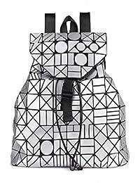 MATAGA - Bolso mochila  de poliuretano para mujer