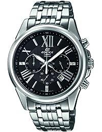 Casio Herren-Armbanduhr EDIFICE Analog Quarz Edelstahl EFR-548D-1AVUER