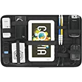 ShopAIS Grid Organizer for Digital Gadgets, Accessories, Utility Items, Stationaries and Other Items (Colour May Vary)