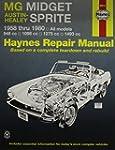 MG Midget, Austin-Healey Sprite, 1958...