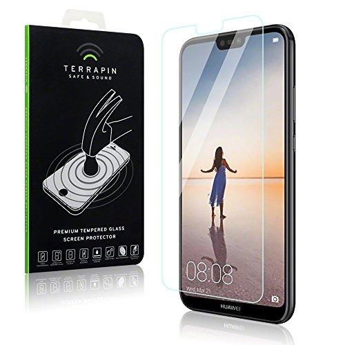 Coque P20 Lite, Terrapin Verre Trempé LCD Protecteurs d'écran pour Huawei P20 Lite Accessoires