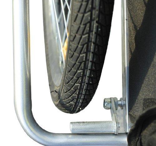 Homcom 5664-1099 2 in 1 Jogger Kinder Fahrradanhänger 5 Farben zur Auswahl Neu, grün / schwarz - 5