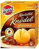 Pfanni Kartoffelknödel der Klassiker 'Halb & Halb' 6 Stück, 3er Pack (3 x 200g)