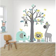 Amazon.fr : stickers arbre blanc bebe