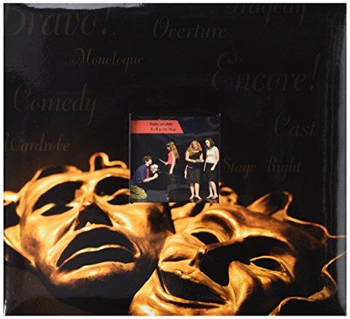 MBI 12x 12Zoll Drama Maske Sport und Hobby Post Bound Album, mehrfarbig