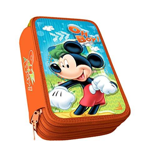 Astro Mickey – Plumier con 3 cremalleras, 3D