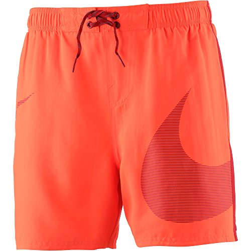 Nike NESS8440 618, Herren Shorts,Orange (Hyper Cr),XL