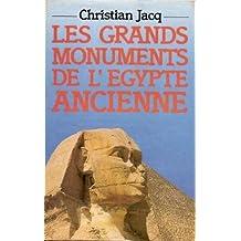 Les grands monuments de l'Egypte ancienne