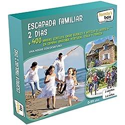 """COFRE DE EXPERIENCIAS """"ESCAPADA FAMILIAR 2 DÍAS"""" - Más de 400 escapadas de una noche en España, Andorra, Portugal, Italia y Francia"""