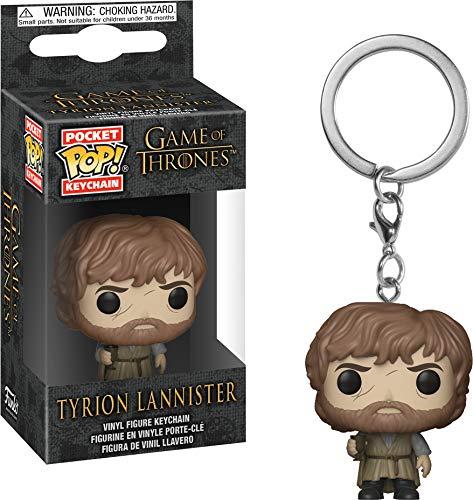 Funko 34911 Game of Thrones: Tyrion Lannister POP Schlüsselanhänger Figur, Multi
