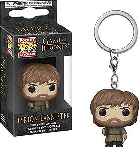 Funko- Pocket Pop Keychain: Game of Thrones: Tyrion Lannister Bolsillo Llavero, Multicolor (34911)
