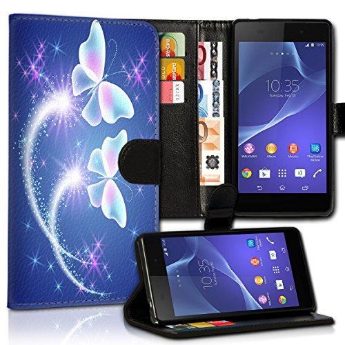 Wallet Book Style Flip Handy Tasche Case Schutz Hülle Schale Motiv Etui für Apple iPhone 6 Plus / 6S Plus - Variante UMV14 Design12 Design 11