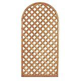 EV Panel Schwibbogen aus Holz Dekoration Zaun Raumteiler Garten Balkon 90x 180cm