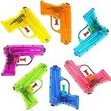 German Trendseller® - 1 x pistolet à eau┃couleur transparent ┃pool party┃petit cadeau┃ l'anniversaire d'enfant┃jeu de plein air