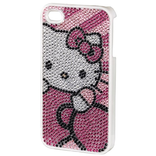 Hello Kitty Handy-Cover für Apple iPhone 4/4S pink bling