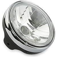 Motorize - Moto phare 20cm - M8 côté montage - New Nevo avec des anneaux de lumière, 7 pouces - Set 2
