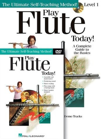 Play Flute Today! Beginner's Pack: Book/CD/DVD Pack (Play Today Instructional Series) (2003-02-01)