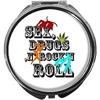 Pillendose/rund/Modell Leony/SEX, DRUGS & ROCK 'N ROLL preisvergleich bei billige-tabletten.eu