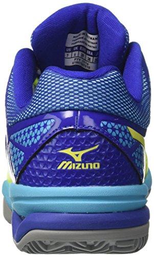 Mizuno Wave Exceed Tour 2 CC Tennisschuh Herren neongrün / blau
