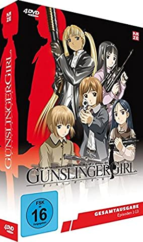Gunslinger Girl 13 - Gunslinger Girl - Episoden 1-13 - Slimpack