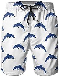 Dolphin Fashion Summer Casual Beach Board Shorts Pants for Men Boys dfd4e22f031