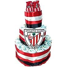Tarta de pañales DODOT Athletic Club de Bilbao