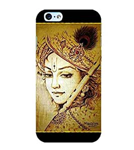 Lord Krishna 3D Hard Polycarbonate Designer Back Case Cover for Apple iPhone 6