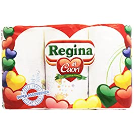 Carta Regina, 2 Veli, Super Assorbenza – 3 Rotoli
