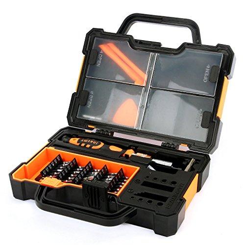 Schraubendreher Set,Magnetischer Schraubenzieher 44 in 1 Professional Precise Aluminiumlegierung Schraubendreher Set für elektronische Wartungs
