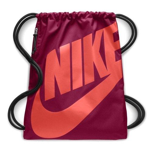 Nike Unisex-Erwachsene NK Heritage GMSK Turnbeutel, Rot (Team Red/Rush Coral) -