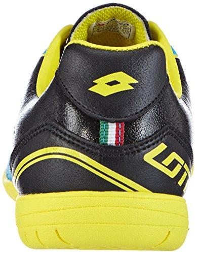 Lotto - Spider X Id, Scarpe da calcetto Uomo Multicolore (Mehrfarbig (FL BLUE/BLACK))