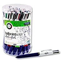 Premier Stationery Pro: Scribe 4 in 1 Ballpoint Pen (Pack of 36)