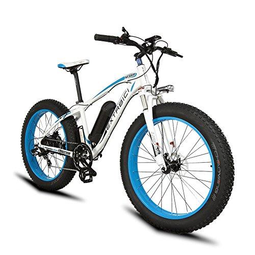 1000W ebike Extrbici XF660 Elektrischer Berg-Schnee-Strand-Fahrrad 48V 16AH Panasonic-Lithium-Batterie 26