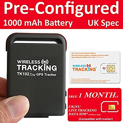 TK102 Tiny Magnetic Vehicle Car Van Lorry & Personal GPS Tracker TK102B by Wireless Tracking Ltd