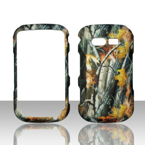 Camo Branches Pantech TXT8035 Caper Verizon Case Cover Hard Phone Case Snap-on Cover Rubberized Touch Faceplates