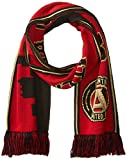 Ruffneck Offizielles MLS Atlanta United scarf-double-seitige Skyline, rot, one size