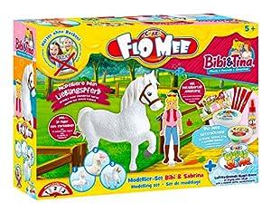 CRAZE FLO MEE + Cloud Slime Bibi & Tina Kit de Modelado Bibi & Sabrina 15124