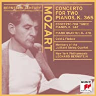 Bernstein Plays and Conducts Mozart