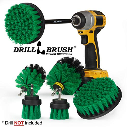 Drillbrush Ultimate Kitchen Cleaning Kit with 7 Inch