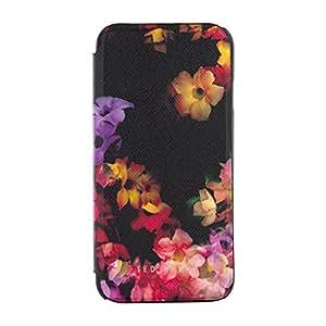 """TED BAKER Étui pour iPhone 6 (4.7"""") avec miroir intérieur - Design effet hachuré - Housse de protect"""