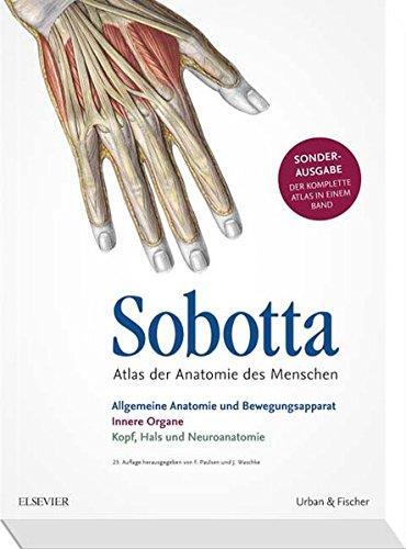 Sobotta Atlas der Anatomie Sonderausgabe in einem Band (Friedrich Paulsen)